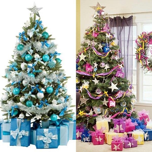 Consejos para decorar en navidad ambyases - Arboles de navidad blanco decoracion ...